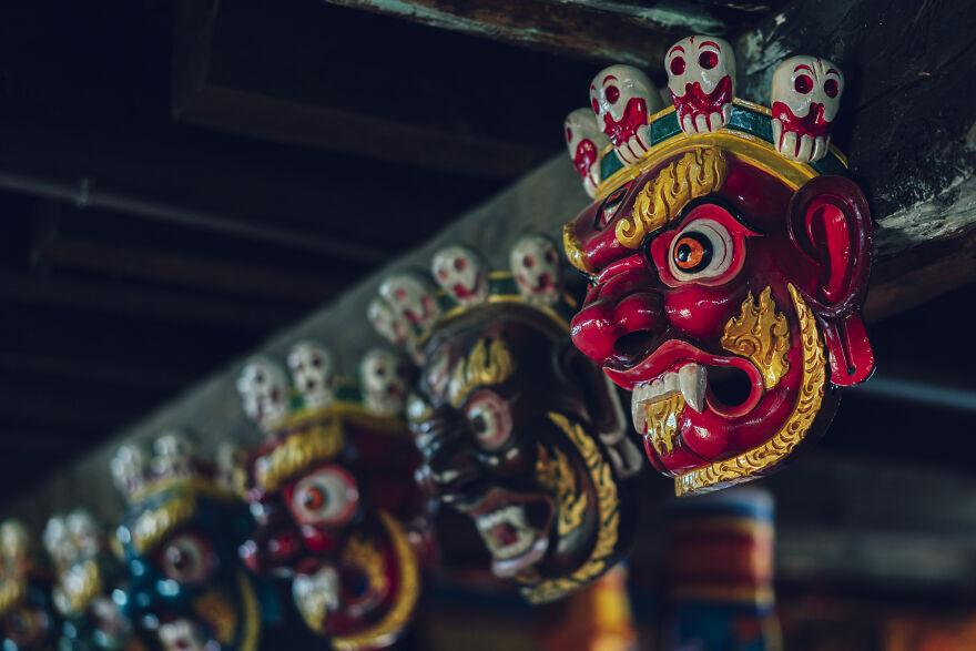 Masks Of The Afterlife