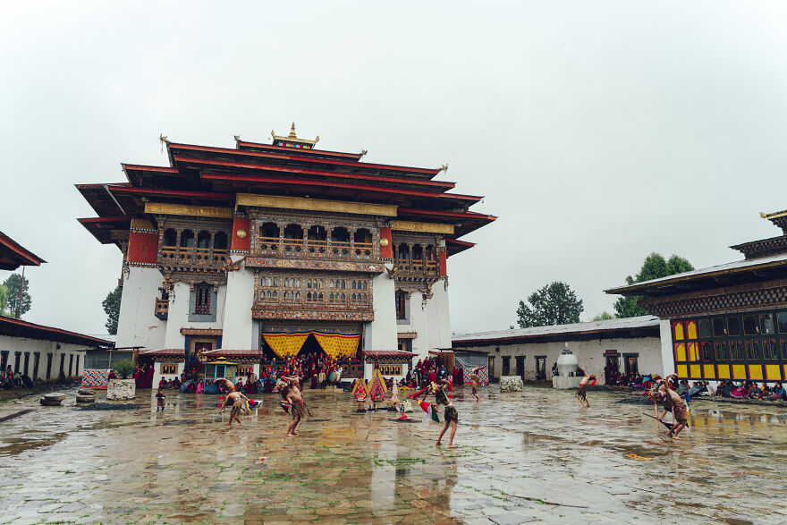 Tsechu Is The Most Famous Of The Many Festivals In Bhutan.