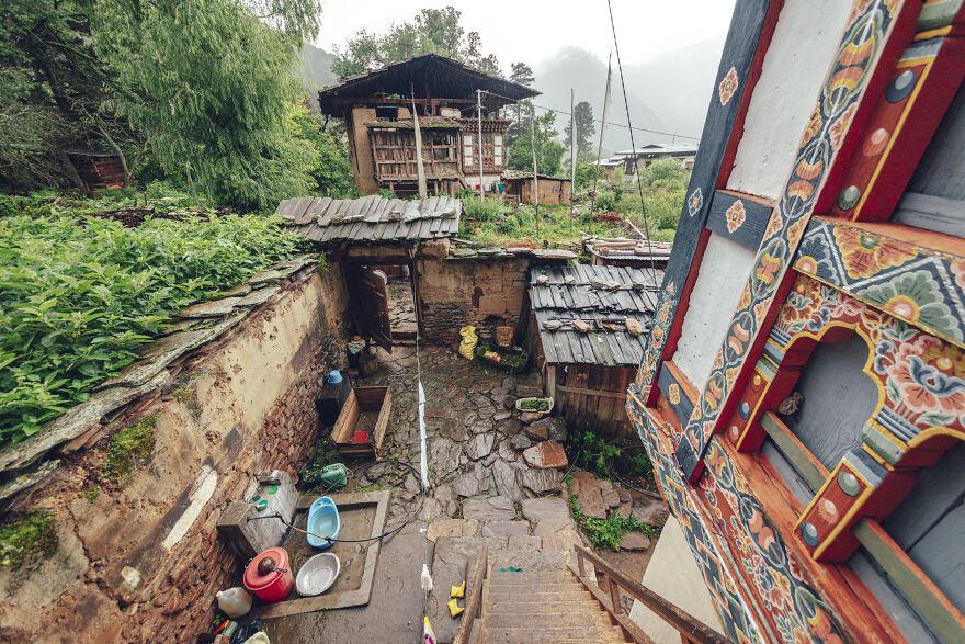 Local Villages, House Construction.