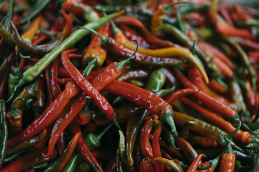 Chili Is One Of The Most Eaten Vegetables In Bhutan.