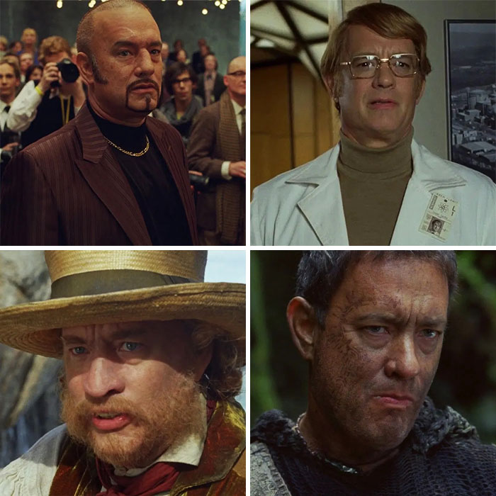 Tom Hanks As Dermot Hoggins, Isaac Sachs, Henry Goose, Zachry, And 2 Other Roles In Cloud Atlas (2012)