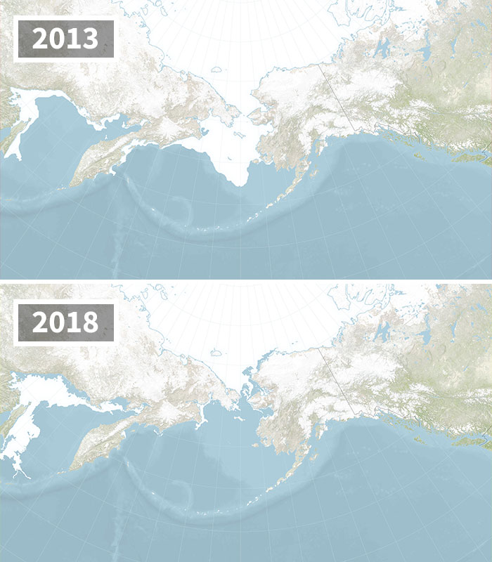 Bering Sea Ice At Record Low