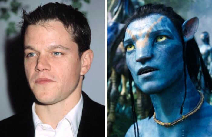 Matt Damon Turned Down The Role Of Jake Sully In
