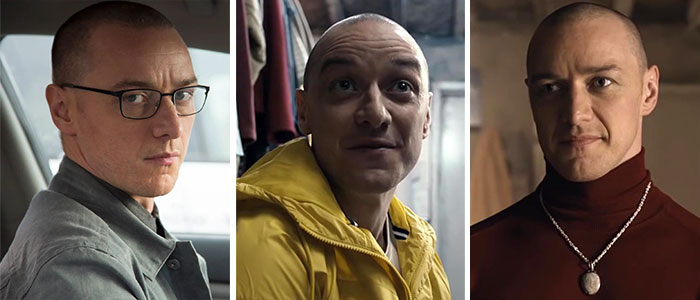 James Mcavoy As Dennis, Hedwig, Patricia, And 5 Other Roles In Split (2016)