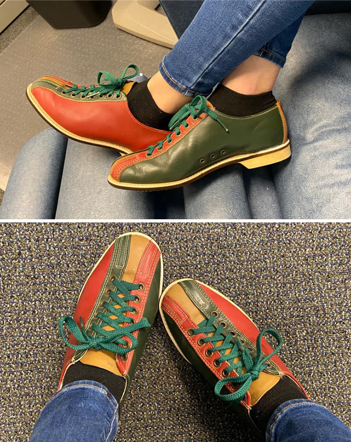 I Have Wanted A Funky Pair Of Bowling Shoes To Wear As Everyday Shoes Since I Was A Teenager