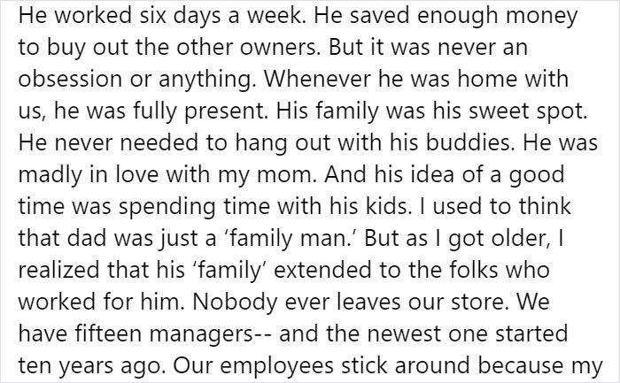 A Heartwarming Story About A Store Owner Who Put Family First Goes Viral On Facebook