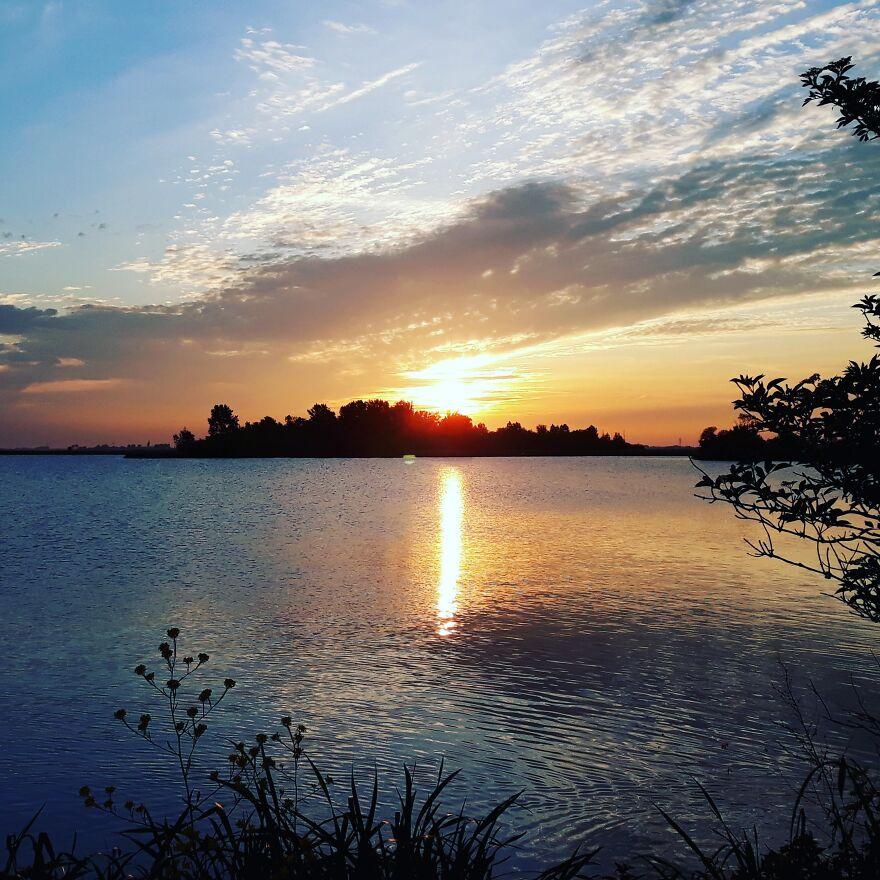 Sunrise Over The Lake...