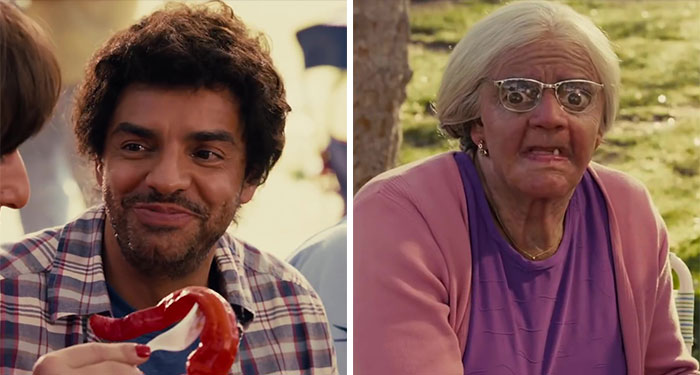 Eugenio Derbez As Felipe And Felipe's Grandmother In Jack And Jill (2011)
