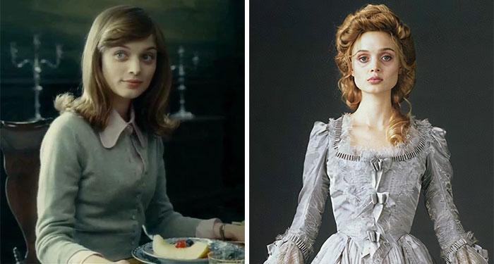 Bella Heathcote As Victoria Winters And Josette Du Pres In Dark Shadows (2012)