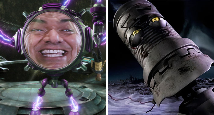 George Lopez As Mr. Electricidad, Mr. Electric, And Tobor In The Adventures Of Sharkboy And Lavagirl (2005)