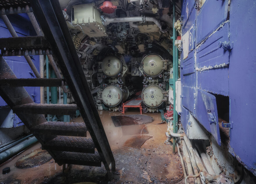 Our 15 Photos Show What's Inside This Abandoned Soviet Submarine That We Found In European Waters