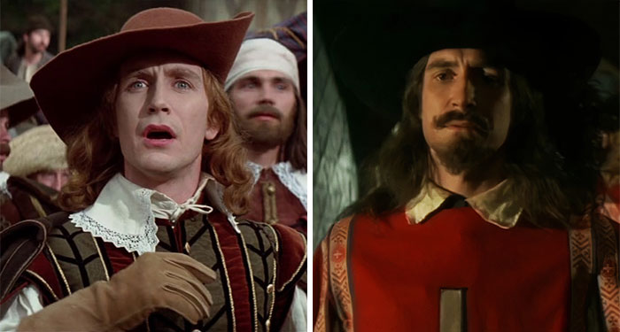 Paul Mcgann As Girard And Jussac In The Three Musketeers (1993)