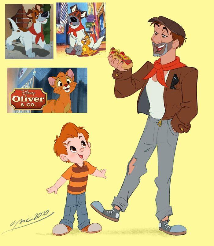 Oliver y Dodger