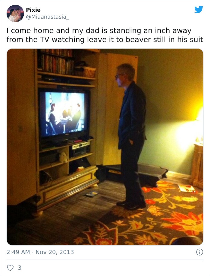 Dad-Watch-TV-Standing-Up