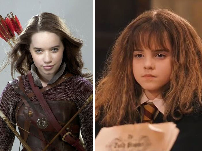 Anna Popplewell Auditioned For The Part Of Hermione Granger In