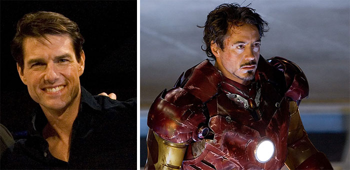 Tom Cruise Was Considered For The Part Of Iron Man, But Robert Downey, Jr Was Cast