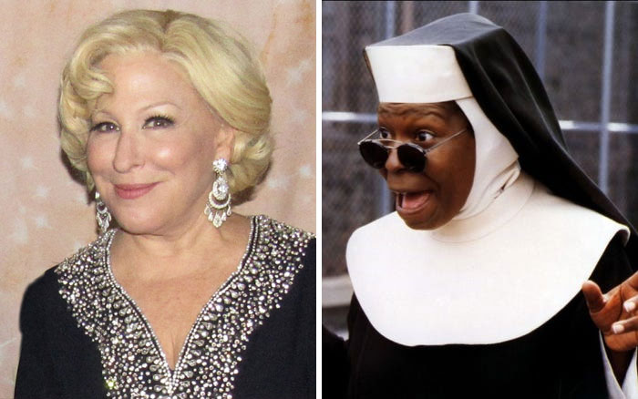 Bette Midler Turned Down The Part Of Sister Mary Clarence In