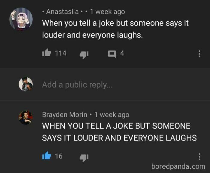 When You Tell A Joke