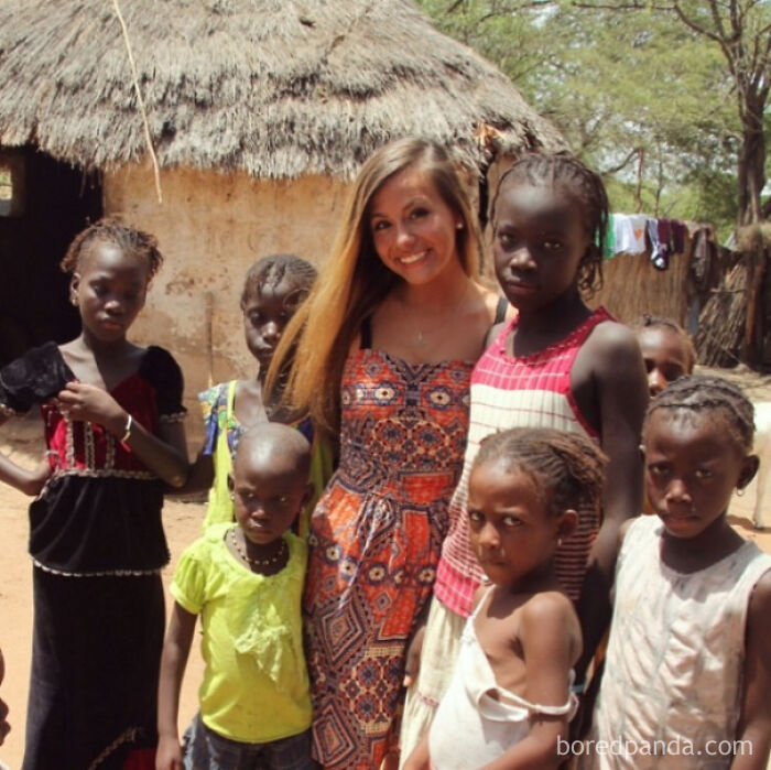 """These Kids Were Absolutely Not Interested In Making The """"Saving African Kids With My Presence"""" Pose For Instagram"""