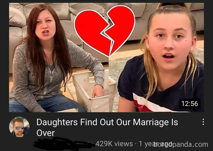 Using Real Reaction Of Divorce For Views