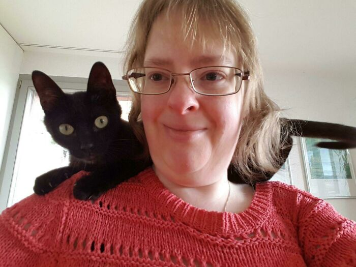 I See We Are Doing Shoulder Cats Today?