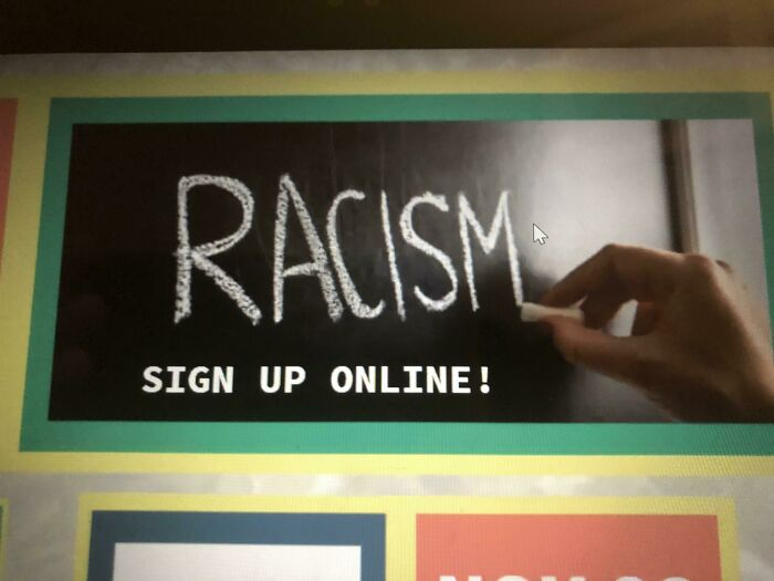 My Churches Anti Racism Slogan