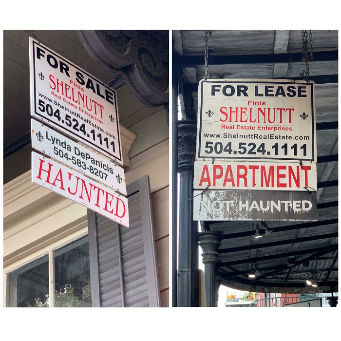 "Real Estate Agents In New Orleans Specify Listings As ""Haunted"" Or ""Not Haunted"""