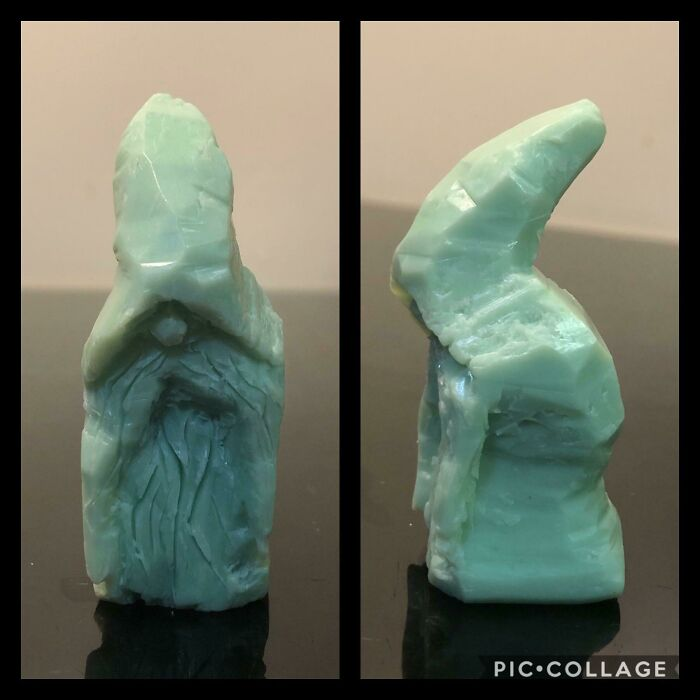 This Cute Wizard Made Out Of Soap Is My Son's First Try At Whittling