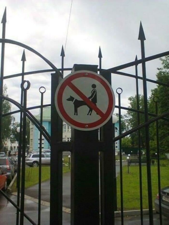 Don't **** Your Dog In This Park