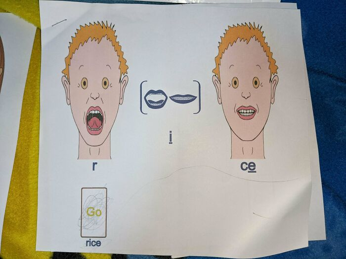 My Son Is Too Terrified To Learn Anything From These Speech Therapy Worksheets, And Frankly I Don't Blame Him