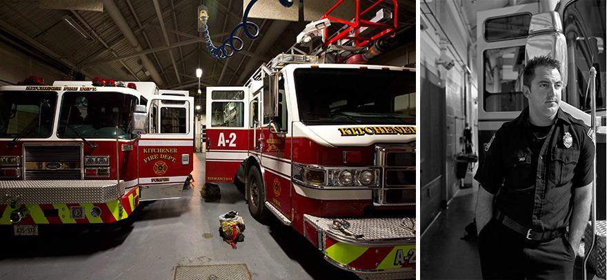 Jan, Fire Fighter, Fire Station 2