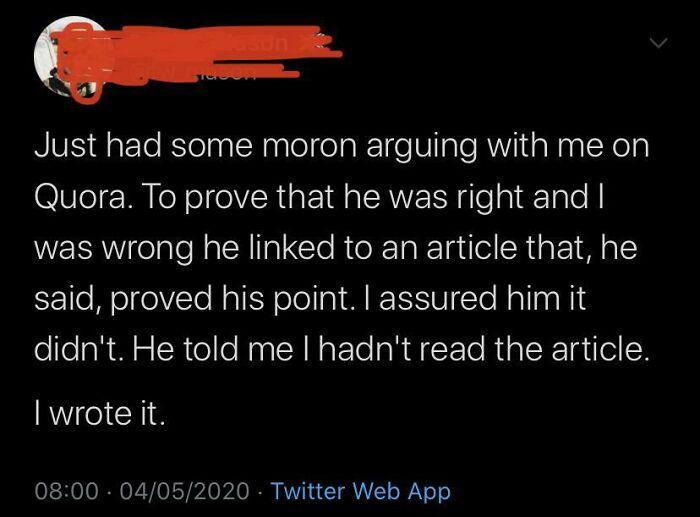 Ah, Quora