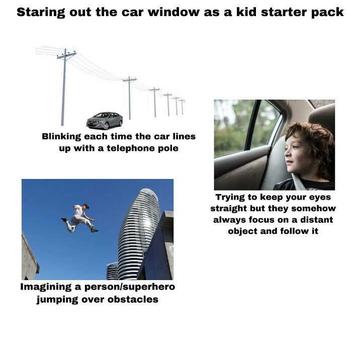 Staring Out The Car Window Starter Pack