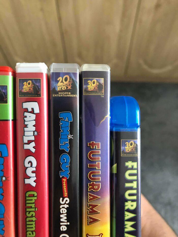 The Futurama Boxes Have 30th Century Fox