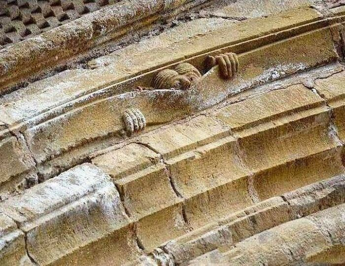 Medieval Humor. - Abbey Of Sainte Foy, Conques, France, C.1050