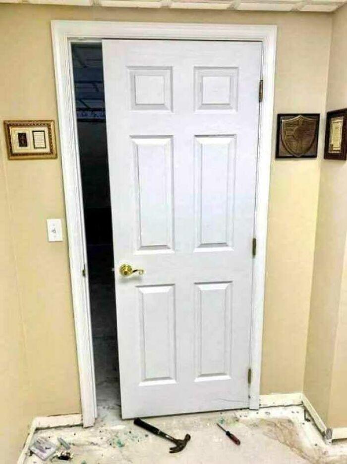 Door Successfully Installed