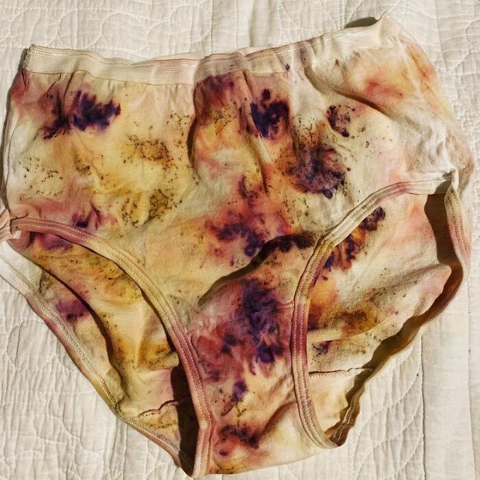 Plant Dyed Underwear On Etsy