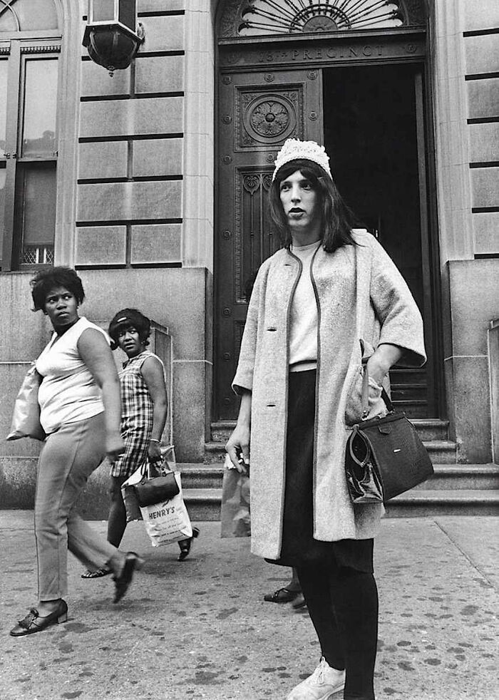 An Undercover Police Officer On Duty. New York, Brooklyn, 1 July 1969