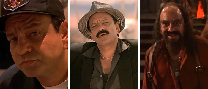 Cheech Marin As A Border Guard, Carlos, And Chet Pussy In From Dusk Till Dawn (1996)