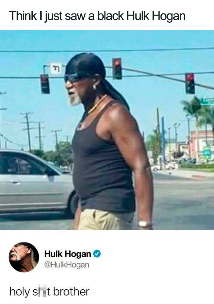 Rare Black Hulk Hogan Spotted