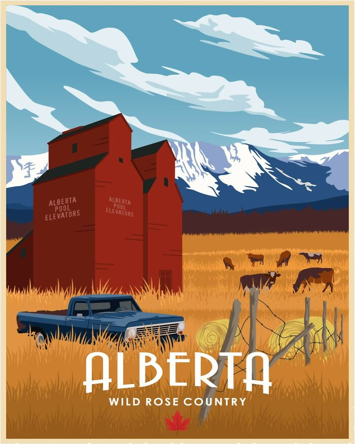 I've Spent The Last Month Illustrated Canada's Provinces Based On The Best They Have To Offer  and Here's The Outcome