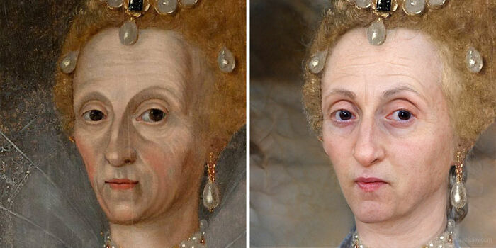 Reina Isabel I (de mayor)