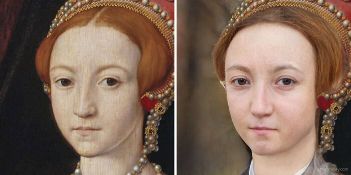 La Reina Isabel I (joven)