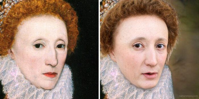Reina Isabel I (de mediana edad)