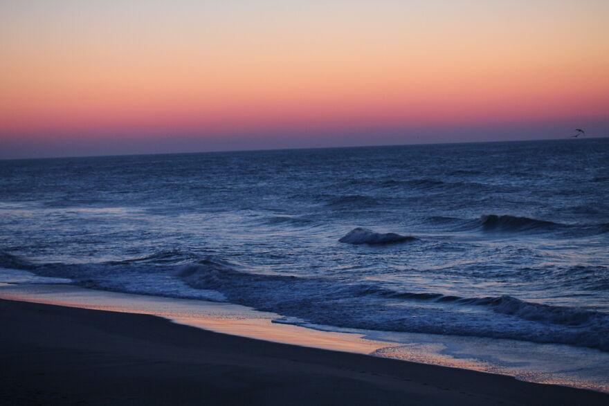 Sunrise Over The Ocean During Quarantining