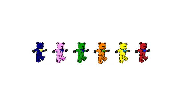 LEGO Grateful Dead Bears