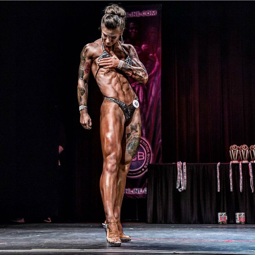 This Girl From Utah Realized To Settle for Her Vitiligo By Health And Bodybuilding