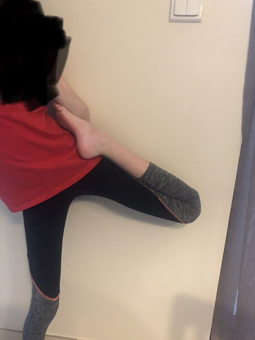 My Second Post Idk How I'm So Flexible Xd