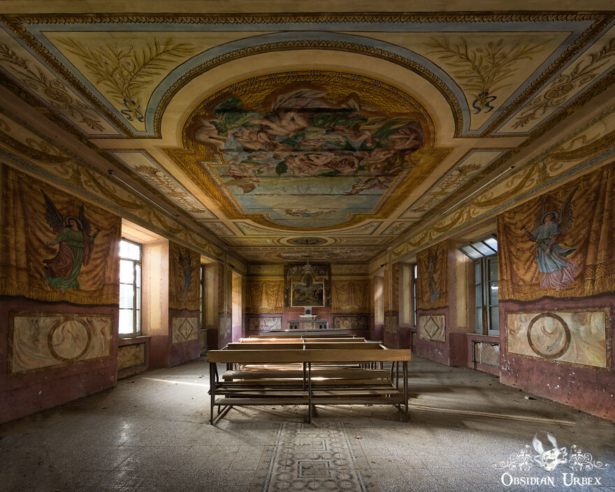 This Abandoned Italian Convent Dates Back To The 1600s