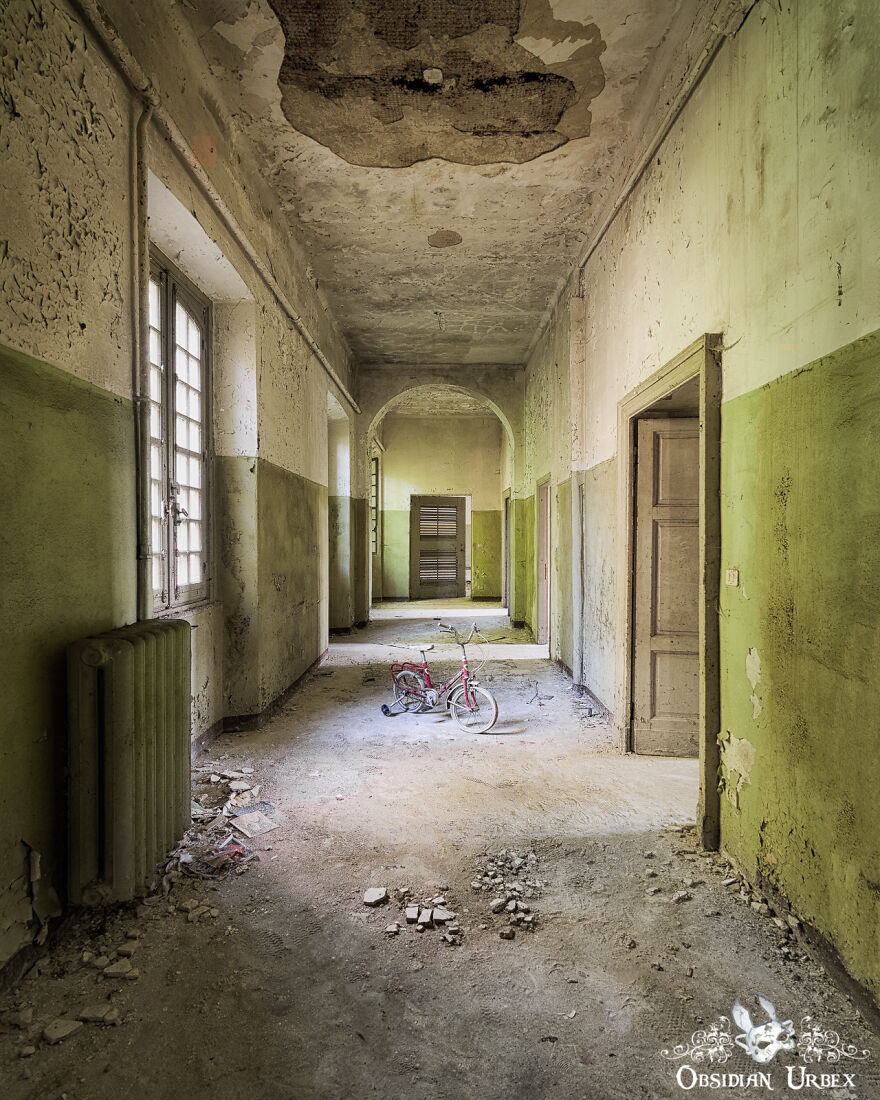 Italian Mental Asylums, Such As This One, Closed In The Late 20th Century. They Endure As A Painful Reminder Of A Time Where Mental Health Was Poorly Understood, And Patients Were Housed In These Archaic Institutions